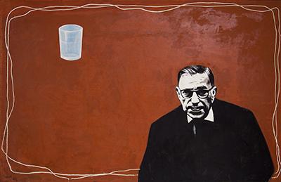 Zhong Ming_He is Himself-Sartre_1980